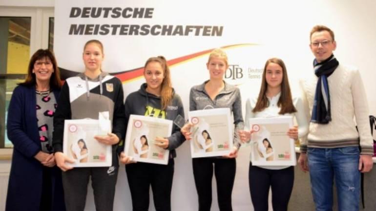 Drei 60er Mädels erfolgreich bei den Deutschen Jugendmeisterschaften des DTB