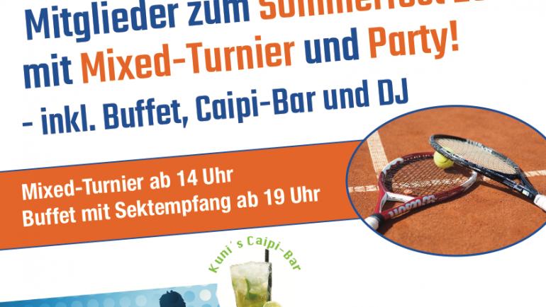 Einladung Sommerfest 21.7.