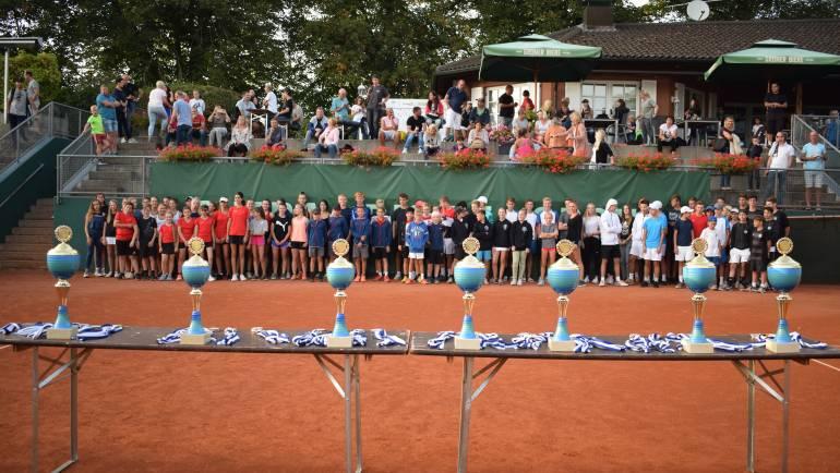 Bayerns Tennis-Nachwuchs beim TV Fürth 1860