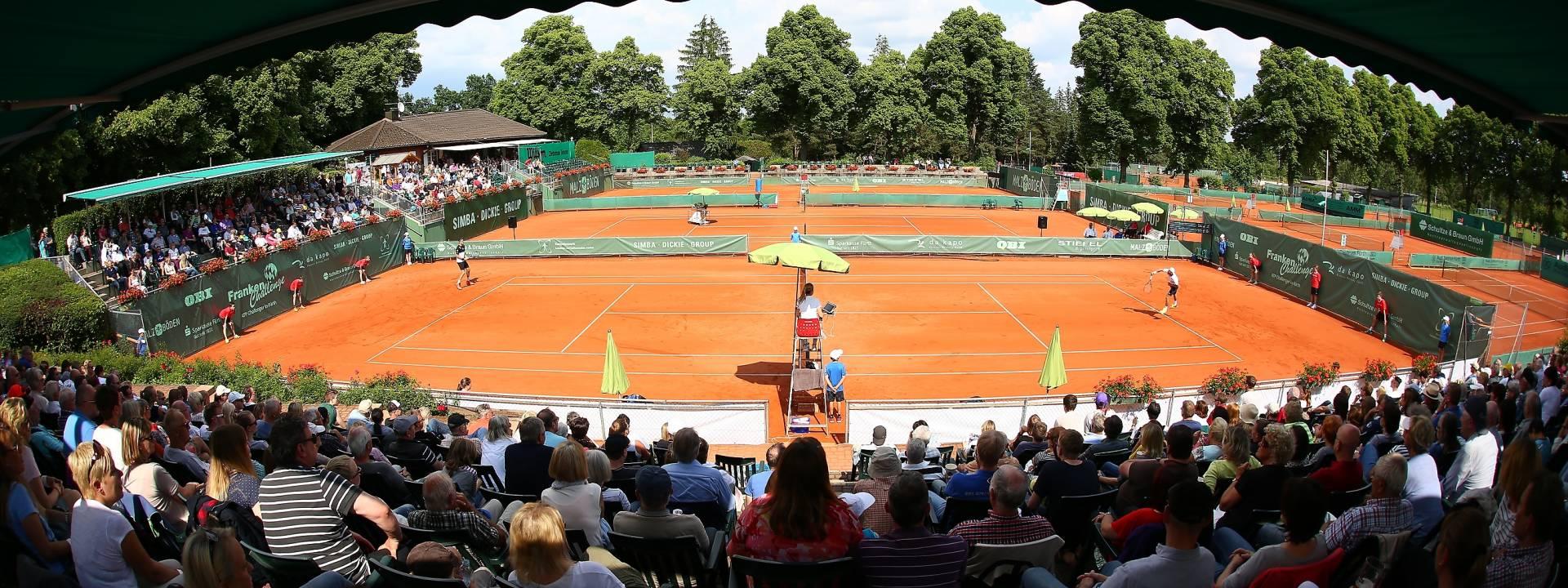 05.06.2016 --- Tennis --- ATP Challenger Tour - Franken Challenge - Tournament Turnier - Männer Herren Finale --- Foto: Sport-/Pressefoto Wolfgang Zink / JüRa ---   Impression