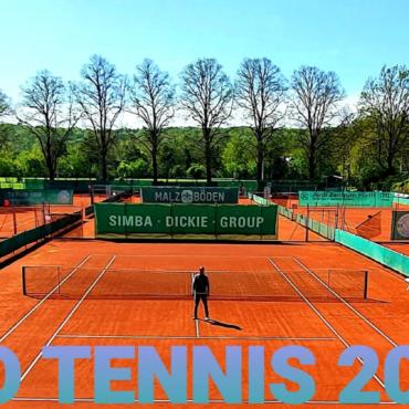 Öffnung Tennisanlage!