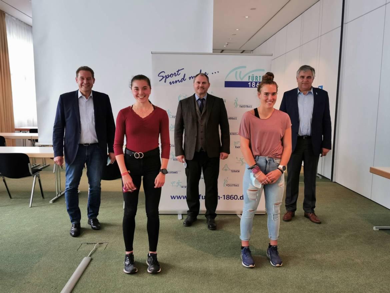 Sonderehrung durch Stadt Fürth und BLSV
