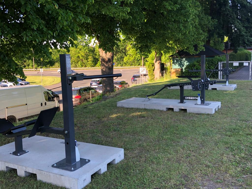 Outdoorfitness for free!